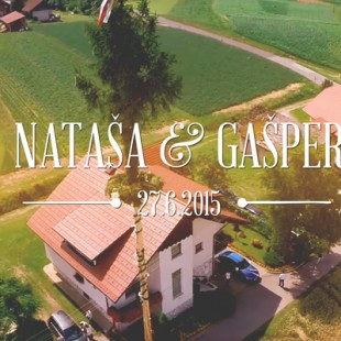[Poročni video] Nataša + Gašper
