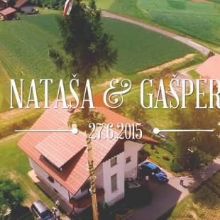 [Poročni video] Nataša + Gašper