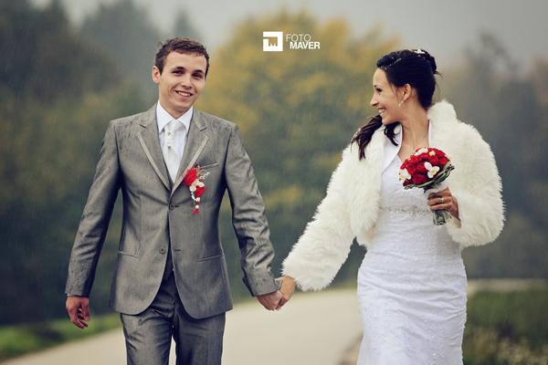 Anita in Sašo - poročno fotografiranje