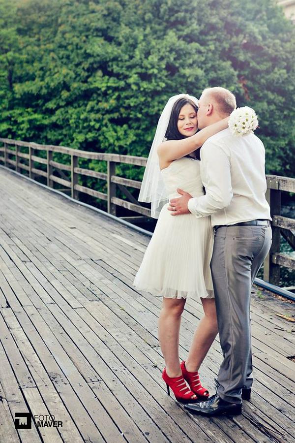Barbara in Slavko - poročno fotografiranje